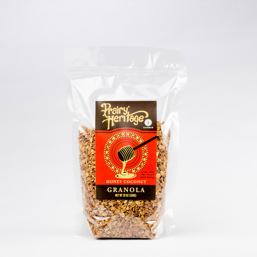 Granola - Honey Coconut - 20 oz - Prairy Heritage - 1000