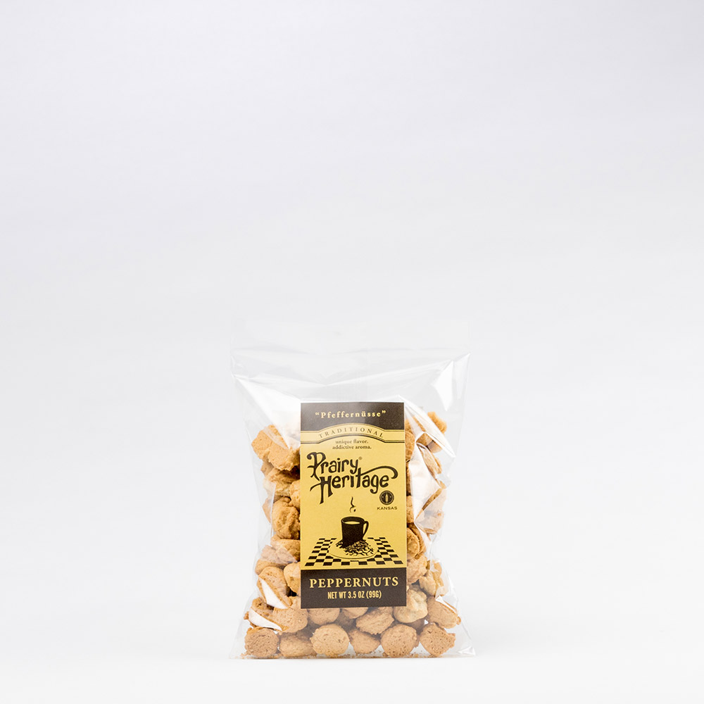 Peppernuts - Traditional - 3.5 oz - Prairy Heritage -1000