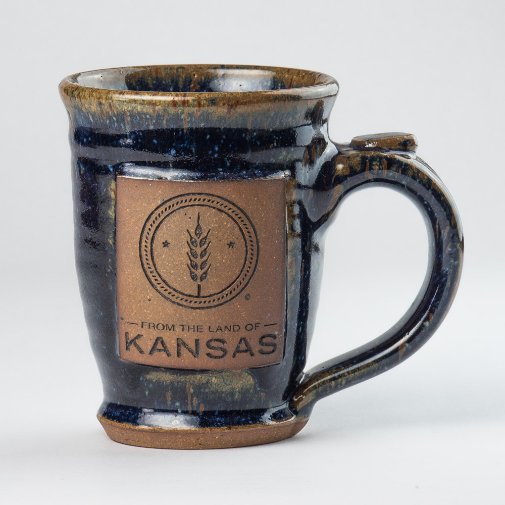 From the Land of Kansas Ceramic Mug
