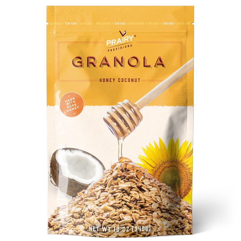Honey Coconut Granola - Medium Size