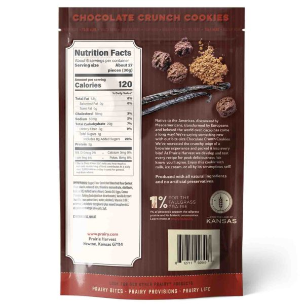 Chocolate Crunch Cookies - Medium - Back
