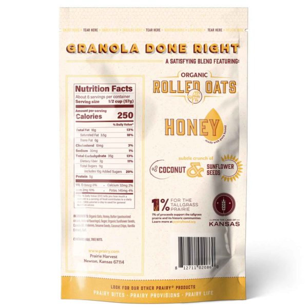 Granola - Medium - Back