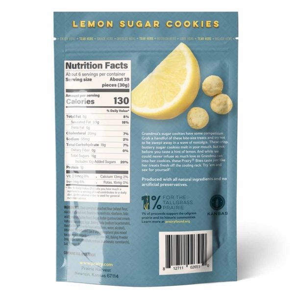 Lemon Sugar Cookies - Small - Back