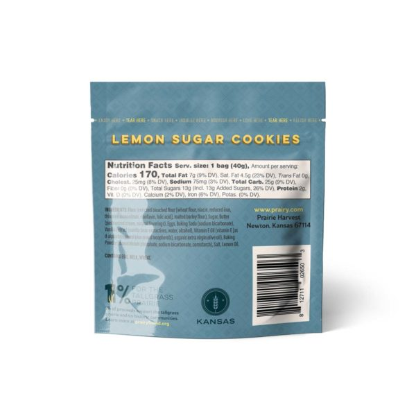 Lemon Sugar Cookies - Snack - Back