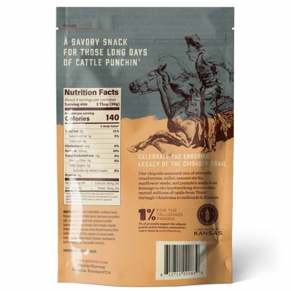 Trail Mix - Chisholm Trail - Medium - Back