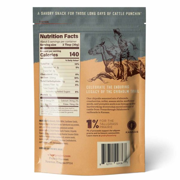 Trail Mix - Chisholm Trail - Small - Back