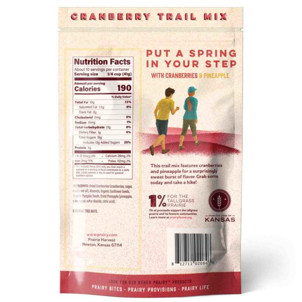 Trail Mix - Cranberry - Medium - Back