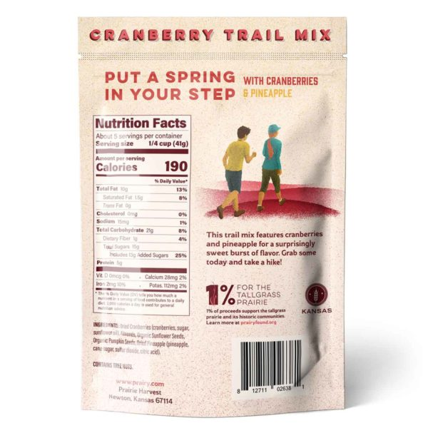 Trail Mix - Cranberry - Small - Back