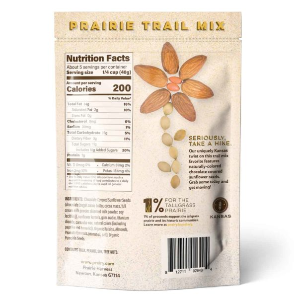 Trail Mix - Prairie Trail - Small - Back