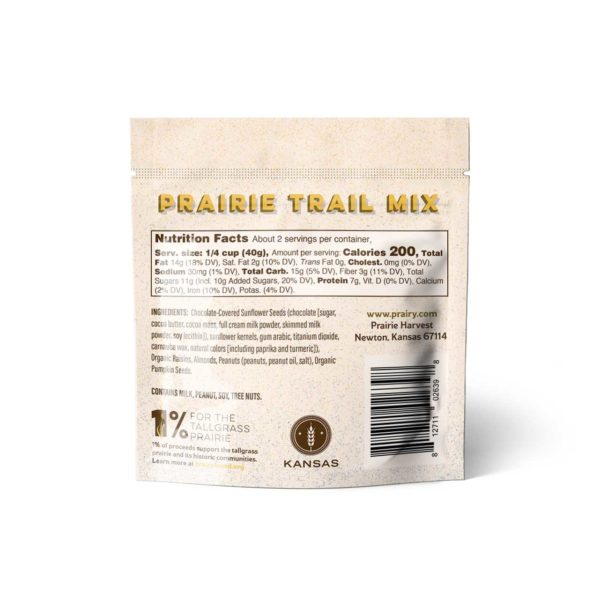 Trail Mix - Prairie Trail - Snack - Back